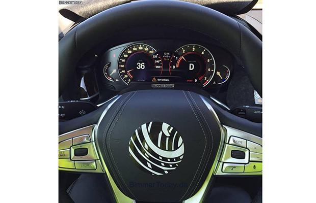 BMW 7 G11 Wnętrze