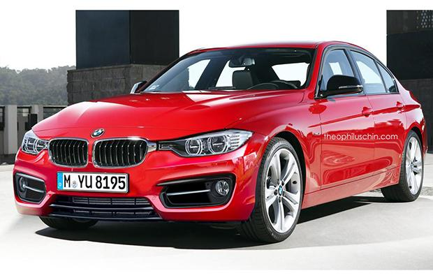 BMW Serii 3 LCI render