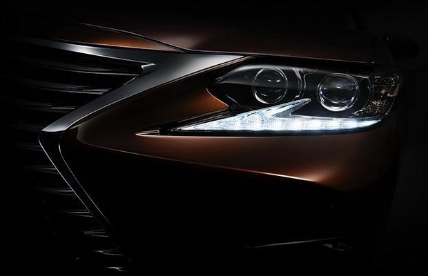 Lexus ES 2016 teaser