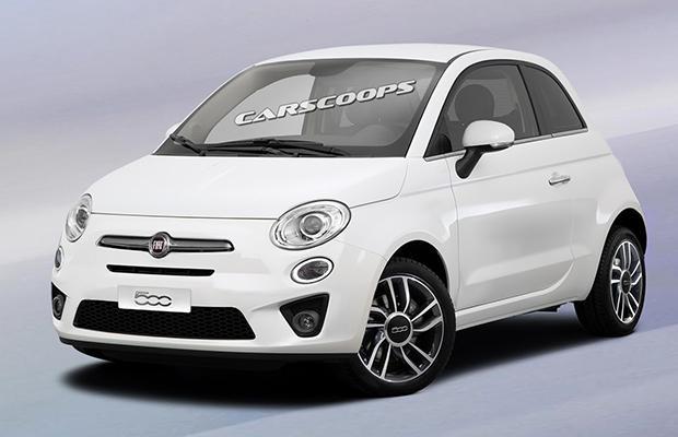 2016 Fiat 500 Facelift