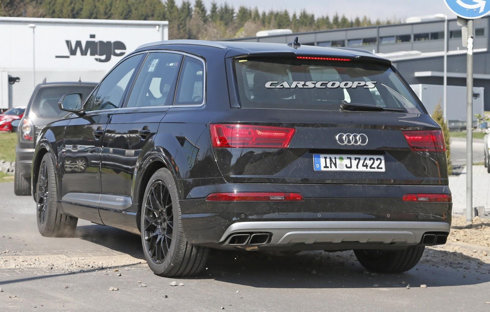 Audi SQ7 Prototyp