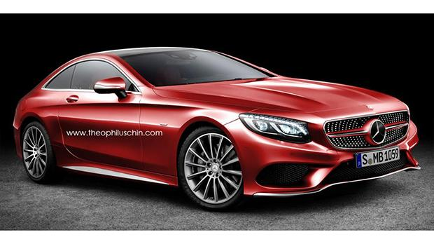 Mercedes Coupe Render
