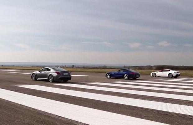 AMG GT S vs. V8 Vantage vs. Lexus RC F