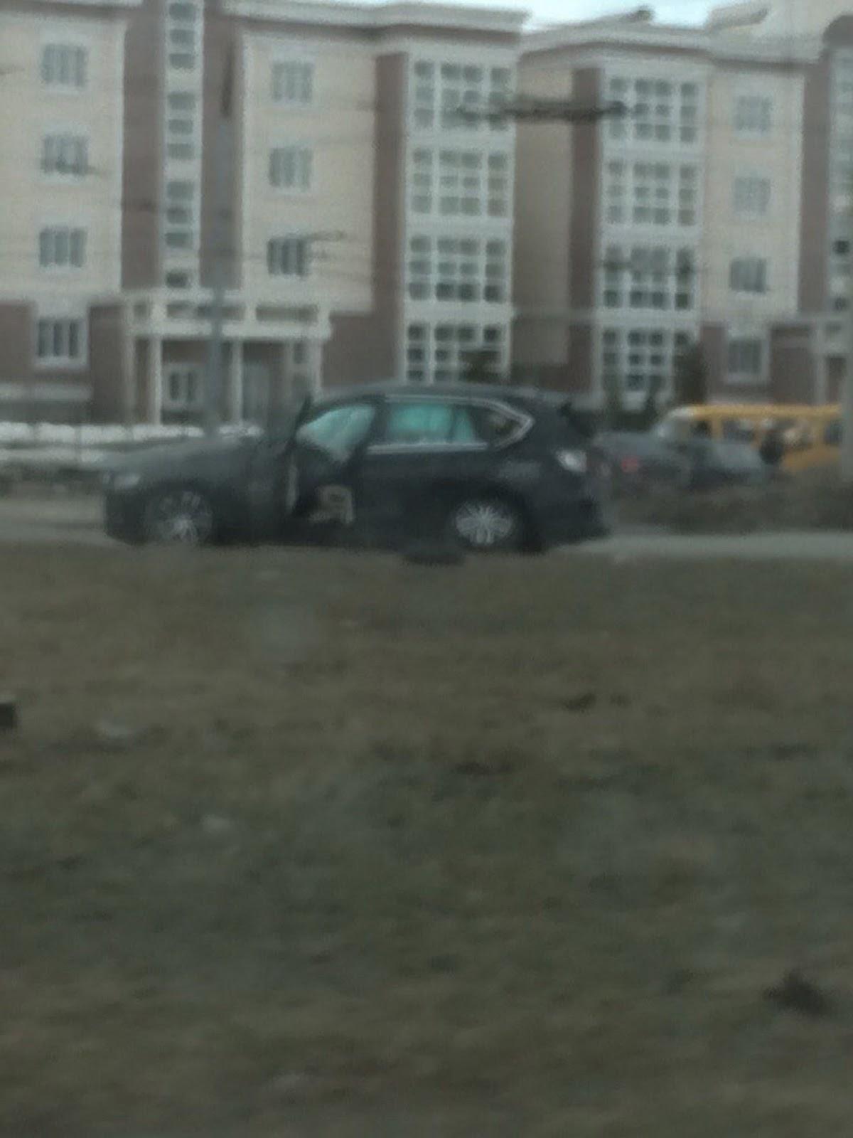 BMW X5 wypadek