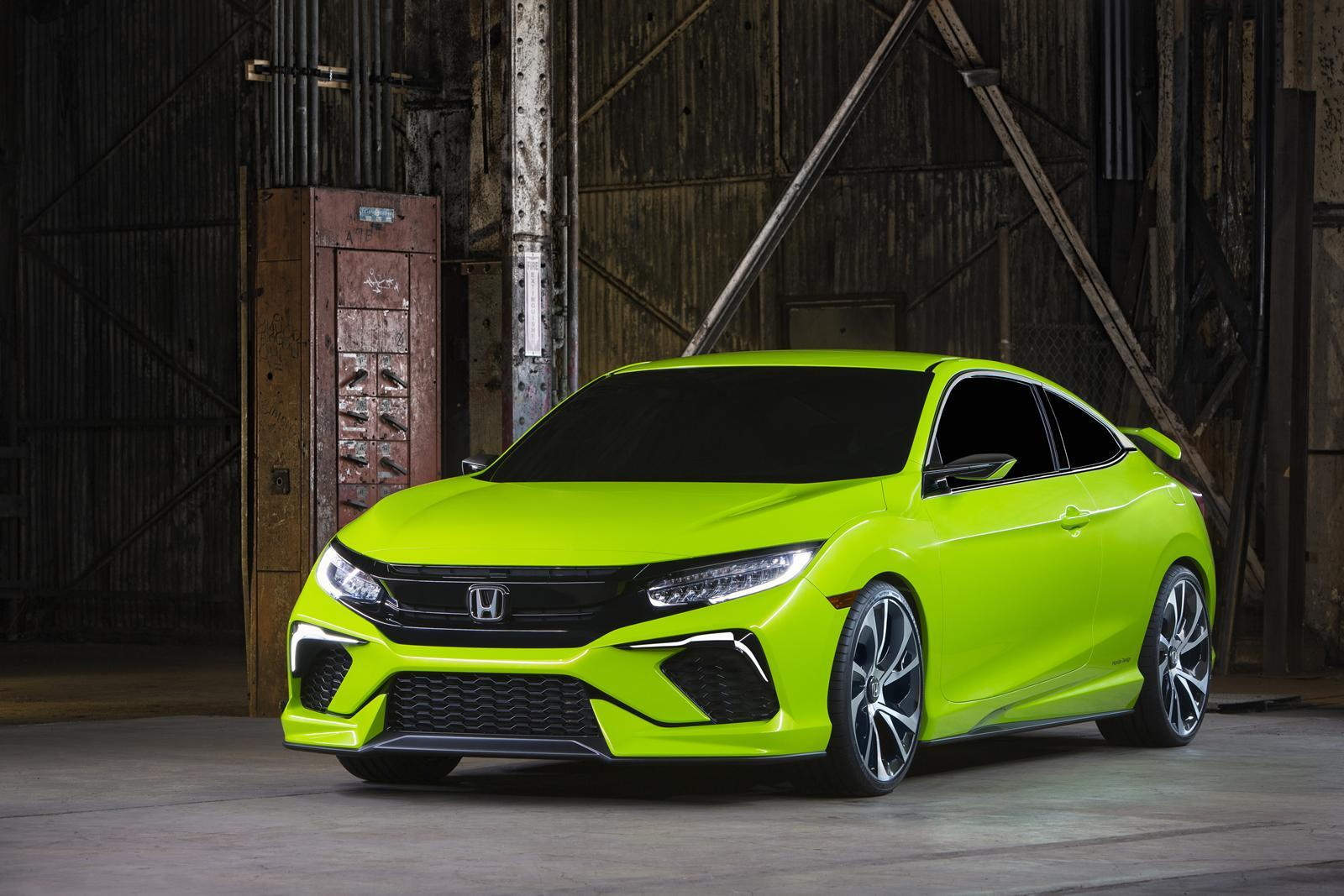 Honda Civic Coupe Concept 2016