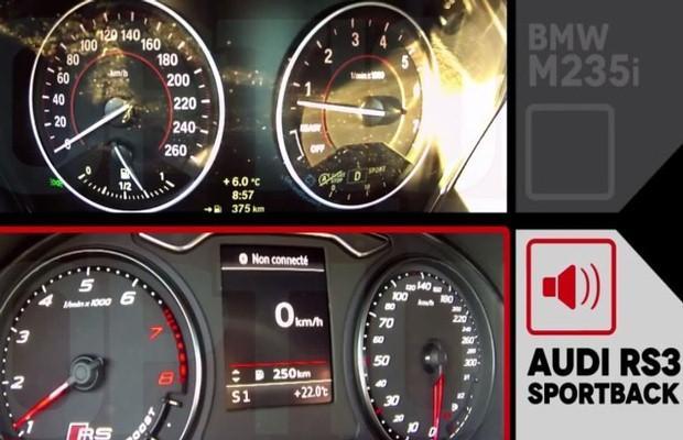 BMW M235i vs. Audi RS3 Sportback