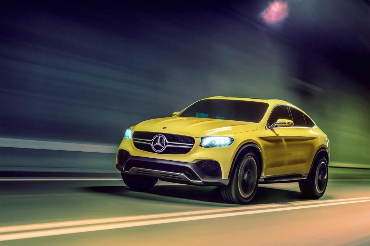 Mercedes GLC Coupe Concept Official