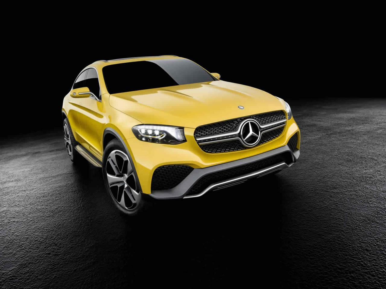 Mercedes GLC Coupe Concept Official