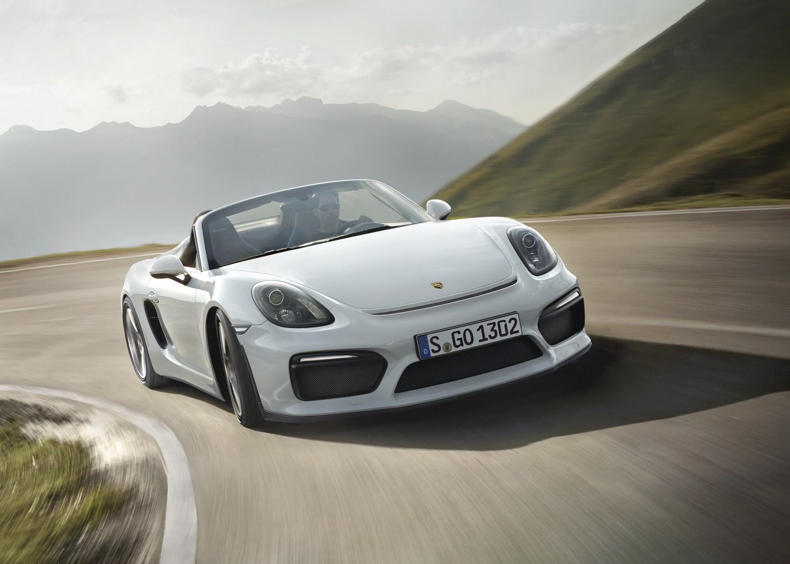 Porsche Boxster Spyder 2016