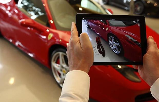 Ferrari Showroom Application