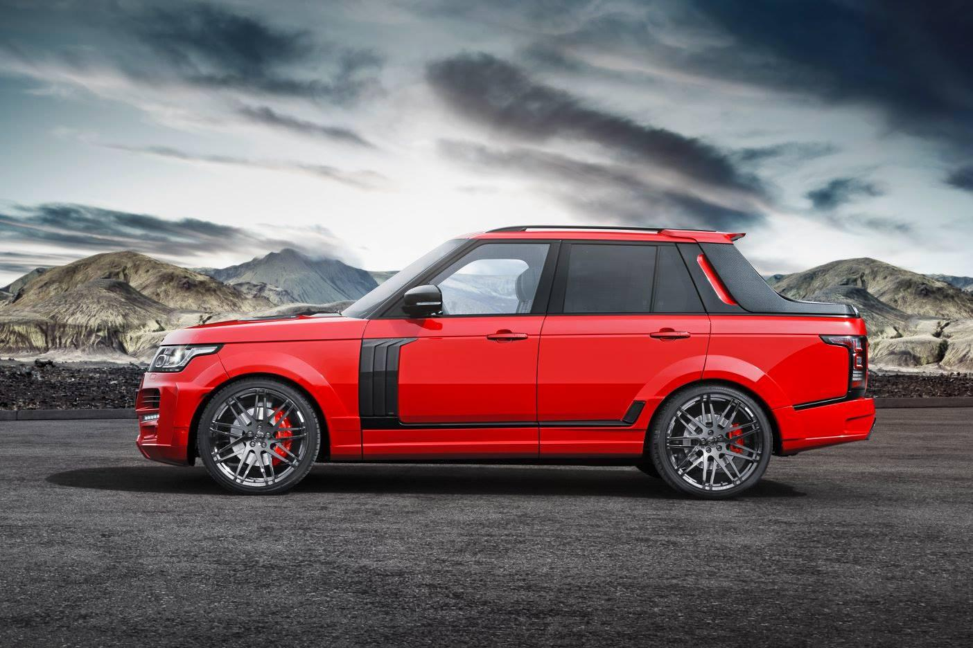 Range Rover pickup od Startech