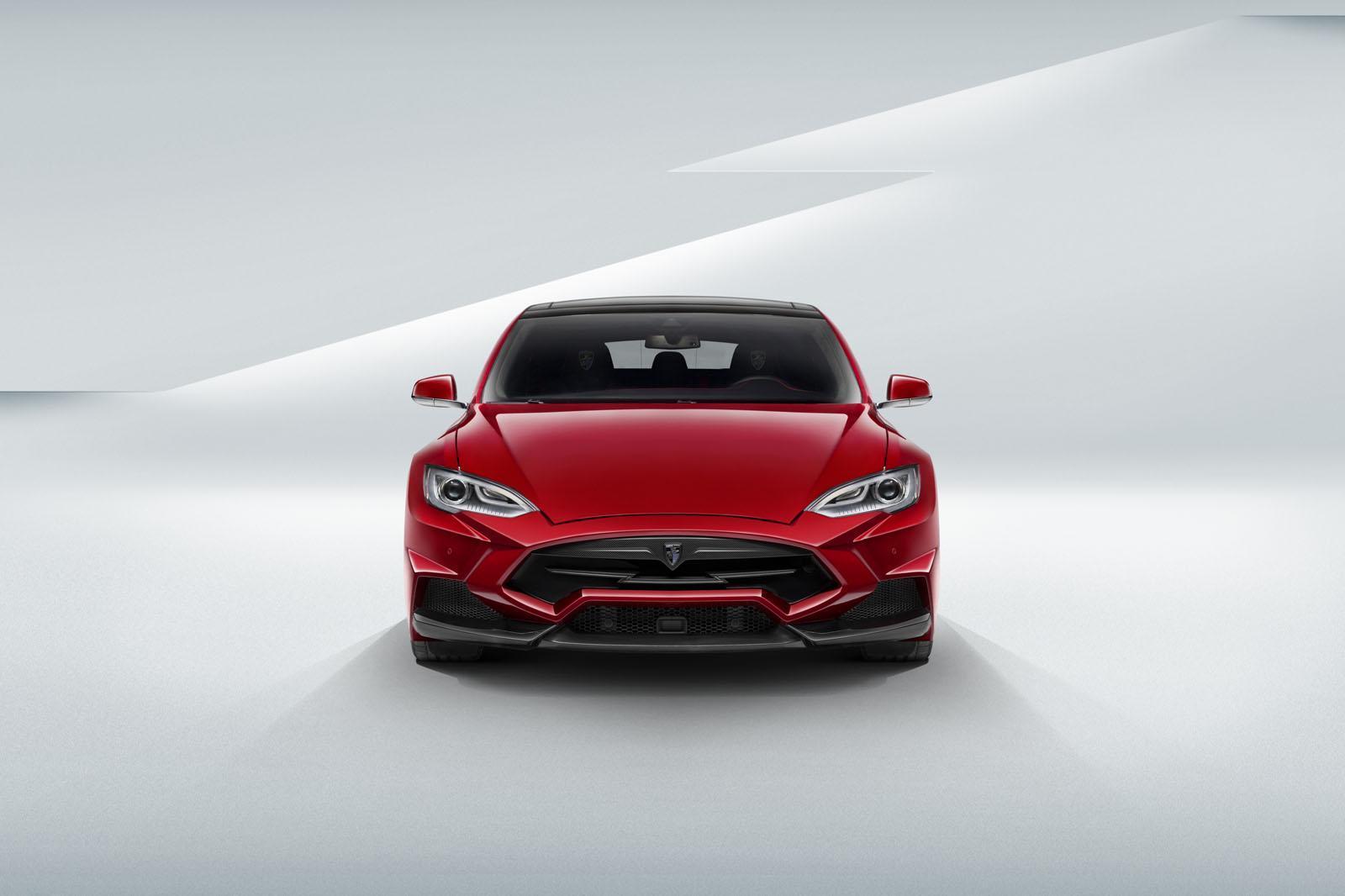 Tesla Model S Larte Design