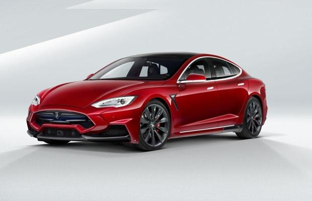 Tesla Model S Larte Design