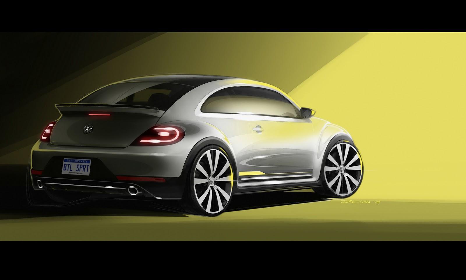 VW Beetle R-Line Concept