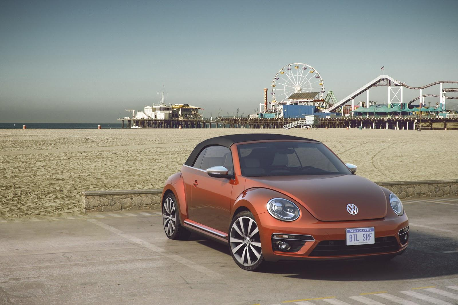 VW Beetle Convertible Wave Concept