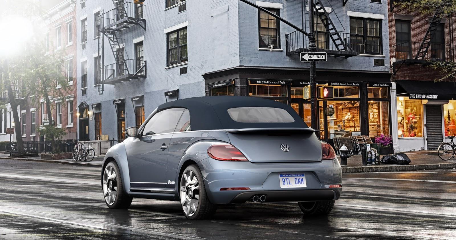 VW Beetle Convertible Denim Concept