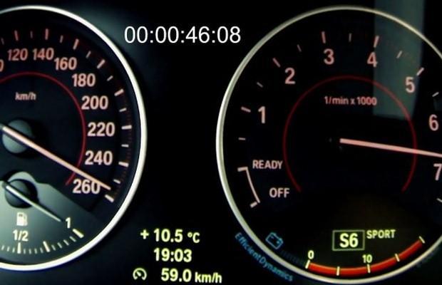 BMW M135i zegary