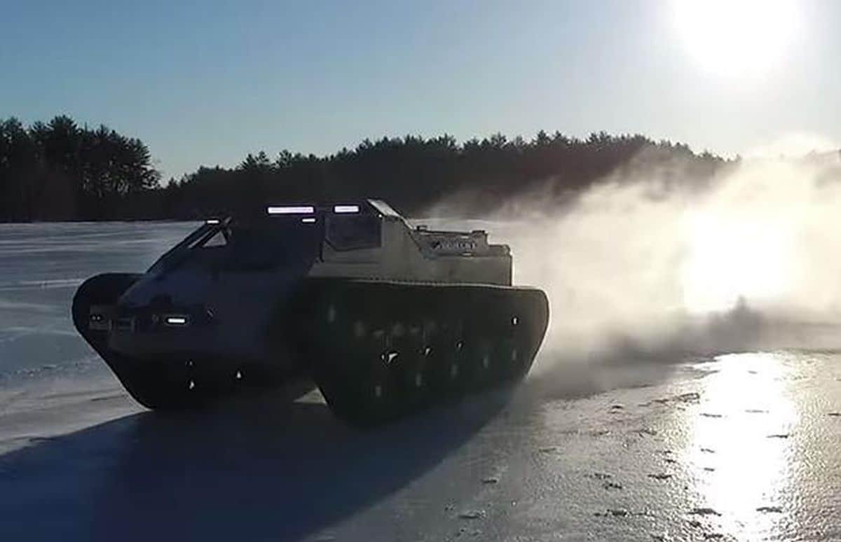 Rupsaw EV-2: najszybszy czołg
