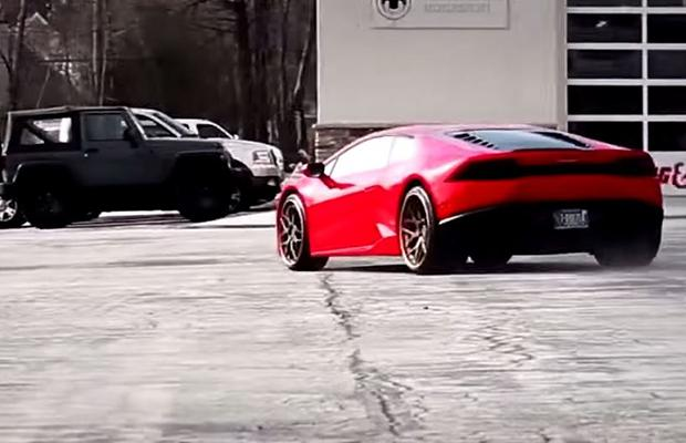 lamborghini huracan supersport exhaust