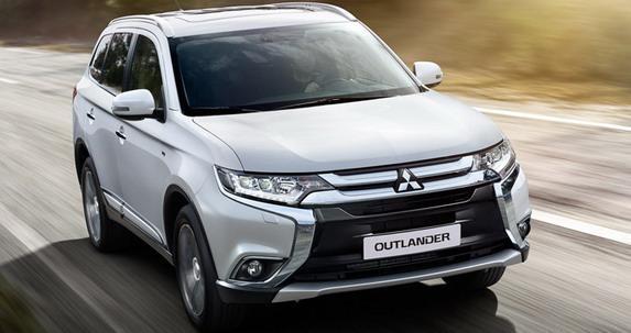 Mitsubishi Outlander 2016 Facelift