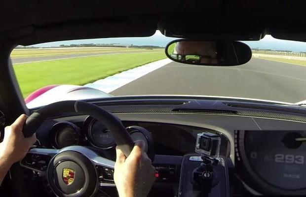 Porsche 918 Spyder onboard