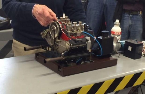 Porsche V6 engine 1:3.2