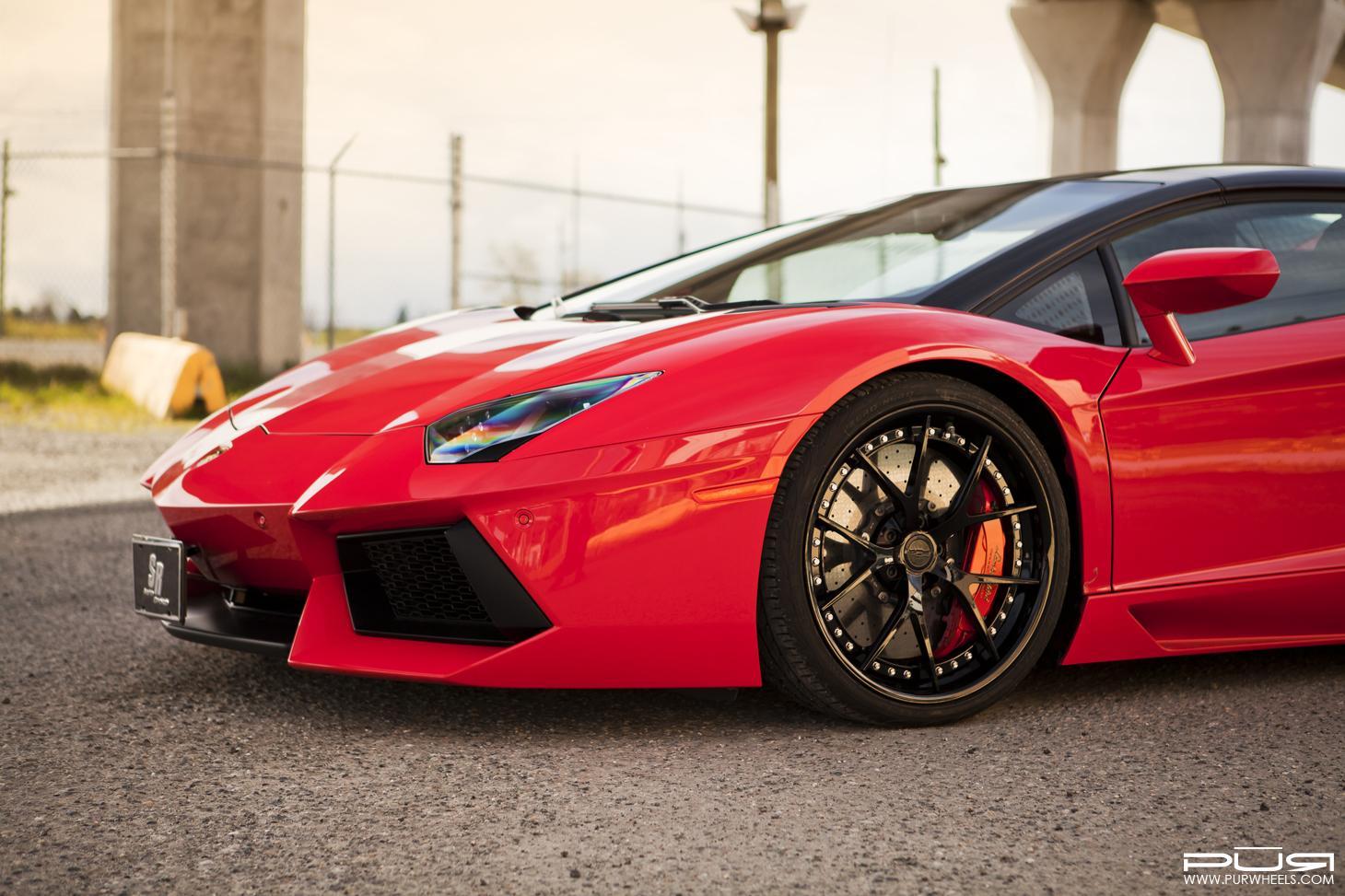 Lamborghini Aventador Roadster PUR Wheels