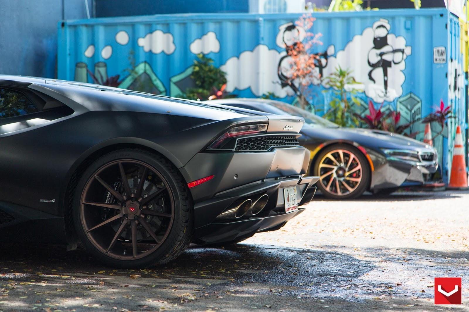 Lamborghini Huracan McLaren 650S Vossen