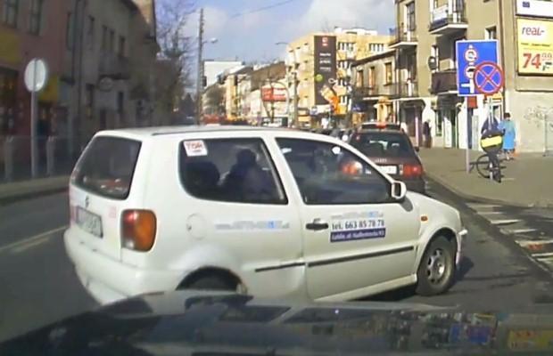 Głupek w Volkswagenie