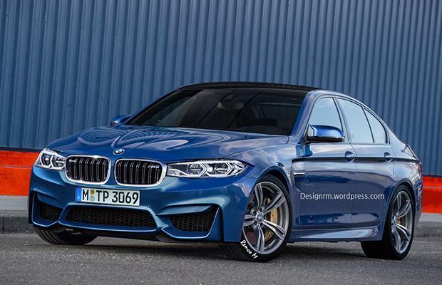 BMW M5 G30 Rendering