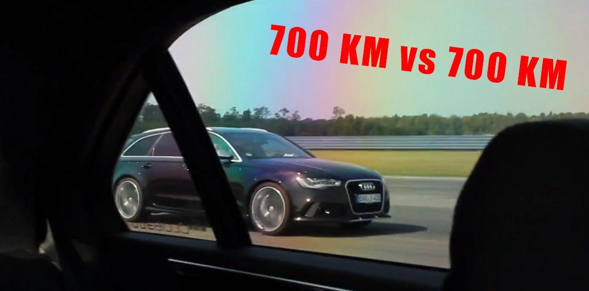 ABT Audi RS6 C7 vs Mercedes AMG E63 4MATIC