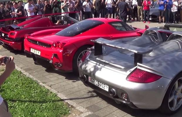Enzo vs. Carrera GT vs. Agera R