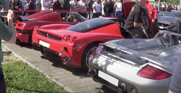 Koenigsegg Agera R vs Ferrari Enzo vs Porsche Carrera GT
