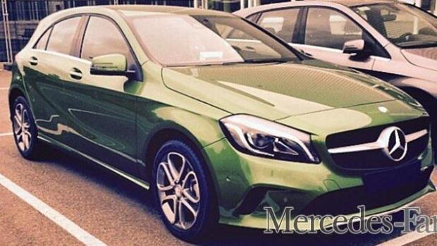 Mercedes A 2016 no cam