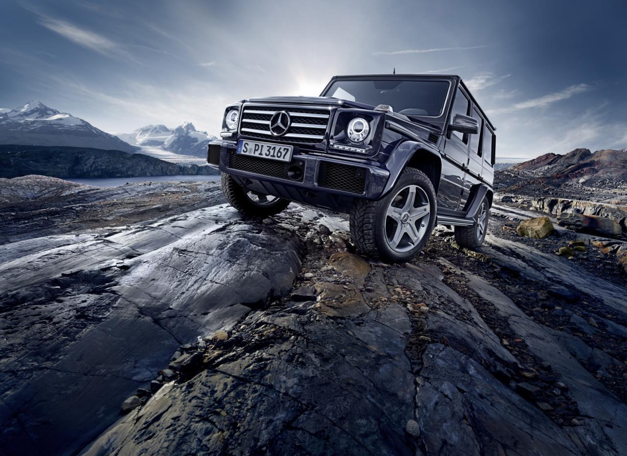Mercedes G Facelift 2015