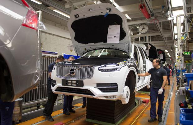 Volvo XC90 production