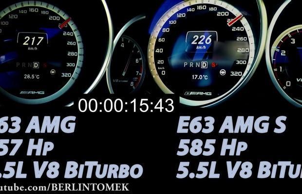E 63 AMG i E 63 AMG S