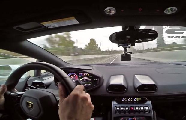 Lamborghini Huracan onboard
