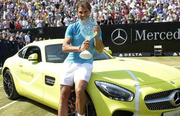 Mercedes-AMG GTS Rafael Nadal