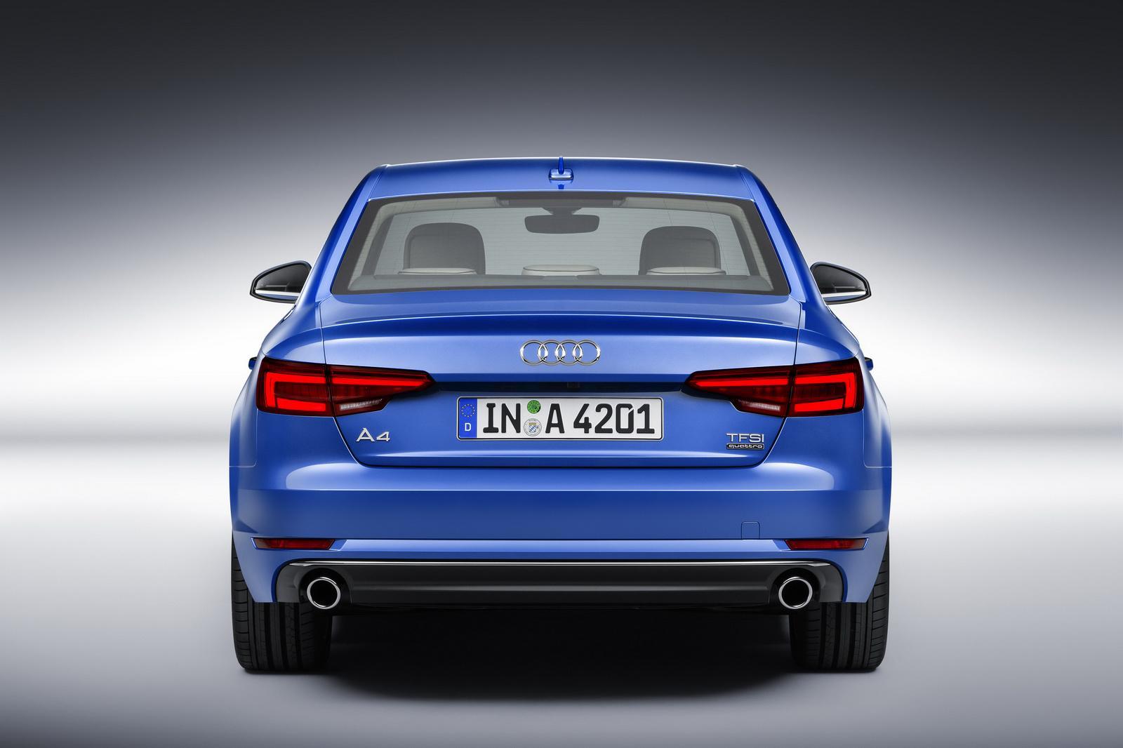 Audi A4 B9 2016