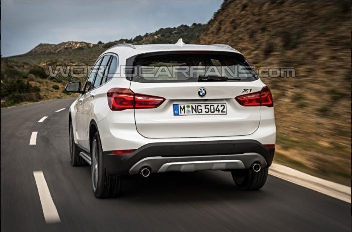 BMW X1 2016 leak