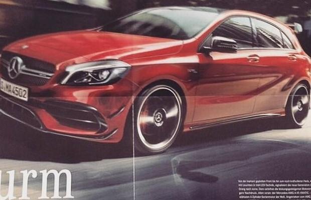 Mercedes A45 AMG 2016 broszura