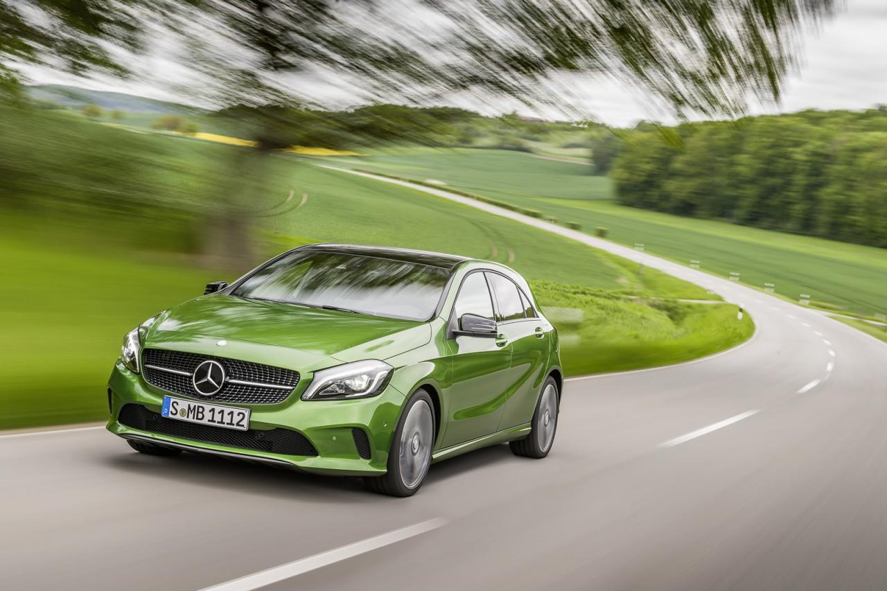 Mercedes A 2016 Facelift