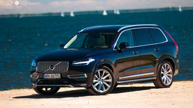Volvo XC90 2015 black czarne