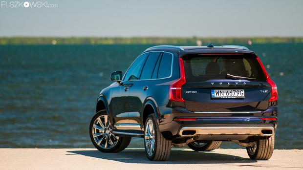 Volvo XC90 2015 rear view
