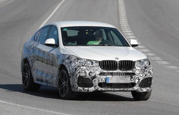 BMW X4 M40i spy