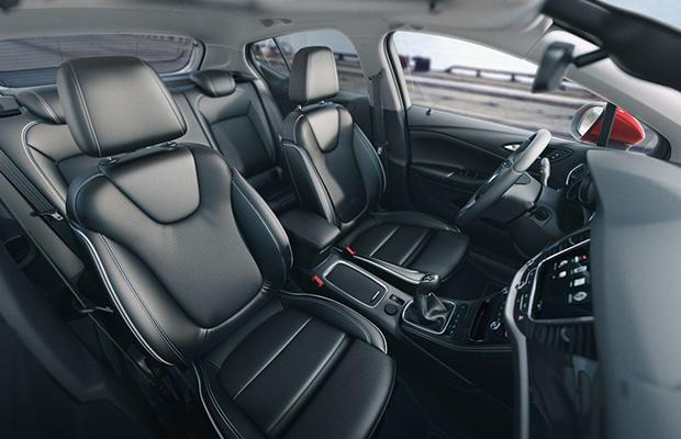 Opel Astra fotele