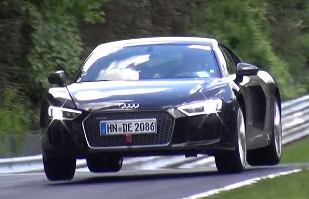Audi R8 Jump