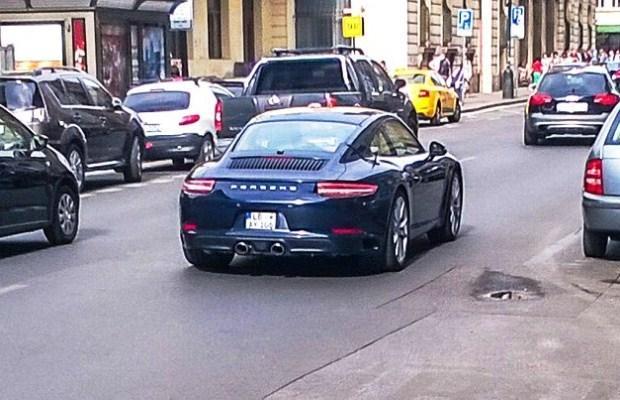 Porsche 911 2016 facelift