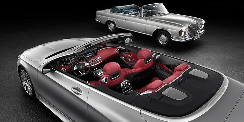 Mercedes Klasa S Cabrio